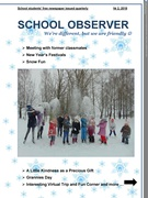 """Hurray!!! """"School Observer"""" №2 came out!!!"""